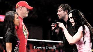 AJ Lee & Paige Save John Cena | WWE Edit *FAKE*