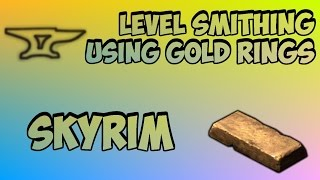 getlinkyoutube.com-Skyrim: How to Get 100 Smithing Fast (After Patch 1.5)