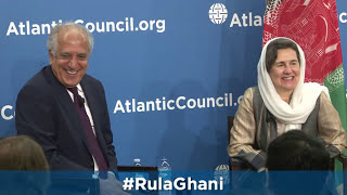 A Conversation With Afghanistan S First Lady Rula Ghani
