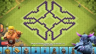 getlinkyoutube.com-Clash of Clans - Epic TH8 Farming Base --The Amazing X--➞Speed Build
