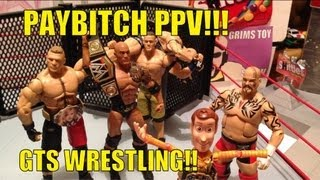 getlinkyoutube.com-GTS WRESTLING: PAYBITCH PPV!! WWE Mattel action figure matches parody animation figures stop motion