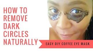 getlinkyoutube.com-Coffee Eye Mask for Dark Circles & Puffy Eyes | GET RID OF  Wrinkles, Fine Lines & Dark Circles Fast