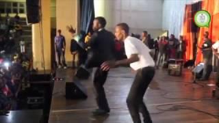 Tryson Chimbetu performance at Nicolas Zakaria's Album Launch