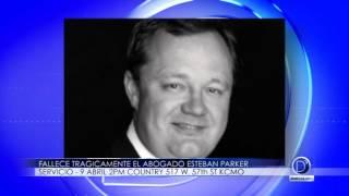 Falleció trágicamente el Abogado Esteban Parker