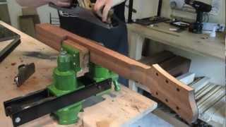 getlinkyoutube.com-Fabrication manche guitare electrique (Eric Stiegler - Luthier)