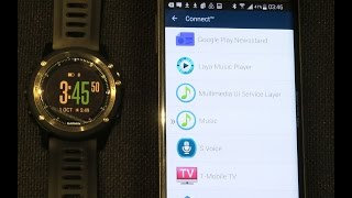getlinkyoutube.com-Garmin Fenix 3 Music Control setup and demo on Android phone