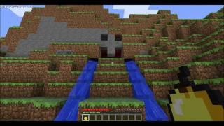 getlinkyoutube.com-Minecraft Piston House 2