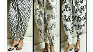 tulip shalwar drafting, cutting and stitching in hindi | tulip salwar cutting and stitching