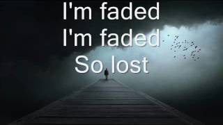 Alan Walker - Faded (Where are you now) Lyrics width=