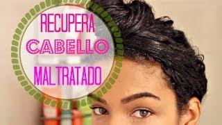 getlinkyoutube.com-Mascarilla Casera Para Cabello Maltratado | SunKissAlbaParaTi