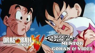 getlinkyoutube.com-Mentor Gohan and Videl Master Quest Training - Dragon Ball Xenoverse