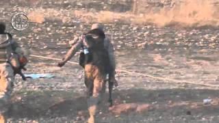 getlinkyoutube.com-خطوة || جانب من المعارك الدائرة في ريف حلب الجنوبي بين مقاتلي الجيش الحر و قوات النظام