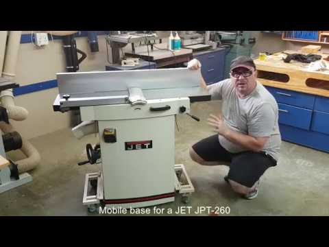Custom mobile base for the JPT 260 Youtube Thumbnail