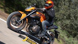 getlinkyoutube.com-Essai Honda CB500F et CBR500R 2016