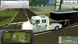getlinkyoutube.com-Farming Simulator 2013 Hauling-  Hot Shot Trucking In Missouri!
