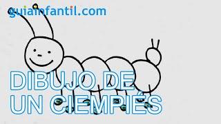 getlinkyoutube.com-Dibuja un ciempiés - Aprende a dibujar paso a paso