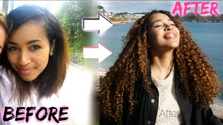 getlinkyoutube.com-How to Grow Your Hair | Major Heat Damage + Curly Hair