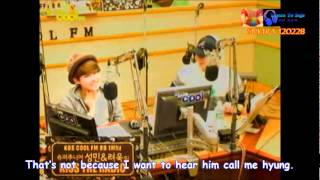 getlinkyoutube.com-[ENG] Ryeowook-Kyuhyun quarreled because Kyuhyun born at the start of the year.