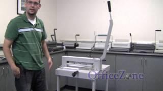 getlinkyoutube.com-Intelli-Cut™ 530D Stack Paper Cutter