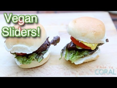 The Edgy Veg: Vegan Sliders: Canada Day / 4th of July Potluck