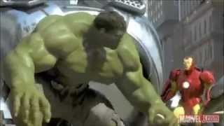 getlinkyoutube.com-Spider Man /  Iron Man / Hulk