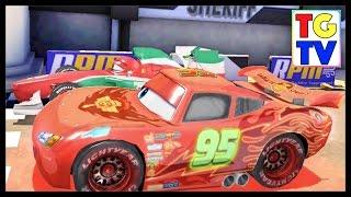 getlinkyoutube.com-Cars Lightning McQueen vs Francesco Fast as Lightning
