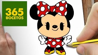 getlinkyoutube.com-COMO DIBUJAR MINNIE MOUSE KAWAII PASO A PASO - Dibujos kawaii faciles - How to draw  MINNIE MOUSE