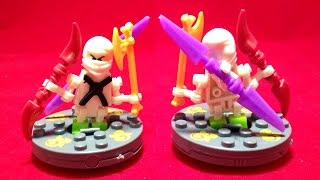 getlinkyoutube.com-Bela 닌자고 쟌 미니피규어와 스피너 레고 짝퉁 황당 제품 lego knockoff ninjago jane spinjitzu spinner battle
