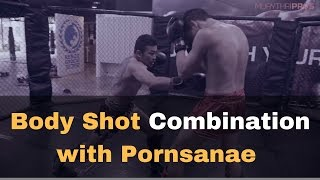 Low Kick Combination by Legendary Muay Thai Fighter Pornsanae