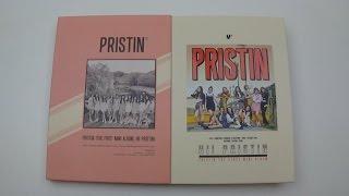 Unboxing Pristin 프리스틴 1st Mini Album Hi! Pristin (Prismatic & Elastin Version)