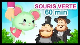 getlinkyoutube.com-Une Souris Verte - 1H de comptines et chansons Titounis