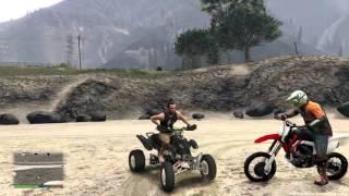 getlinkyoutube.com-Grand Theft Auto 5 - Quad/ATV Mod - GTA 5