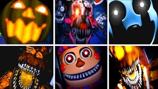 getlinkyoutube.com-Five Nights at Freddy's 4 All NEW Jumpscares