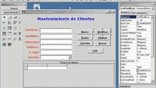 getlinkyoutube.com-Curso Visual Basic 6 - VT16: Relacionando Tablas - Mantenimiento Completo de Clientes