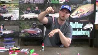 """How To"" - Rigging Pink Worms for Steelhead Fishing"