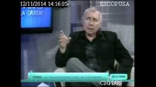 Entrevista a Francesc Celma por Wilfrido Muñoz en CNPLUS en la tarde en Quito