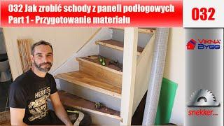 getlinkyoutube.com-032 Jak zrobić schody z paneli podłogowych Part 1 Przygotowanie materiału