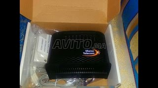الشرح الكامل اعداد الراوتر و تسريع الانترنت Configurer Routeur ADSL Maroc Telecom TD 5130 V3