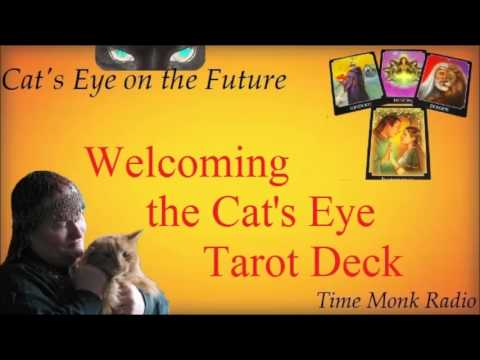Cat's Eye on the Future ~ Welcoming the Cat's Eye Tarot Deck  - DCS 4074