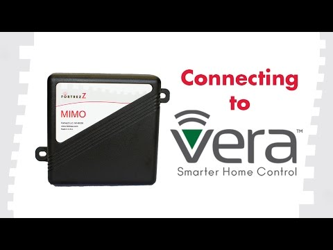 How to Connect Devices to Vera: FortrezZ MIMO2+
