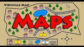getlinkyoutube.com-Learn About Maps - Symbols, Map Key, Compass Rose