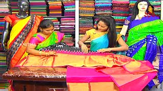 getlinkyoutube.com-Festival Collection of Kanchi Pattu and Fancy Sarees | Hello Ladies | Vanitha TV