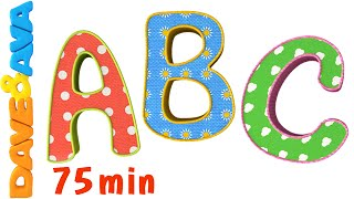 getlinkyoutube.com-ABC Song |ABC Songs Plus More Nursery Rhymes! |Alphabet Collection and Baby Songs from Dave and Ava