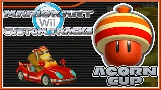 getlinkyoutube.com-Mario Kart Wii Custom Tracks - Acorn Cup