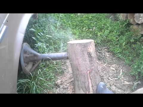 Mercedes Cobra - Despicator de lemne