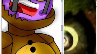 getlinkyoutube.com-The death of purple guy (Fnaf 3 speedpaint)