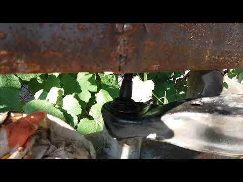Выпрессовка шаровой nissan maxima a33