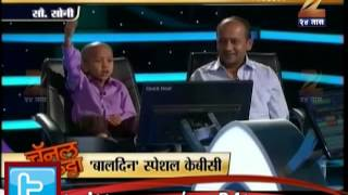 getlinkyoutube.com-Zee24Taas: childrens day special KBC
