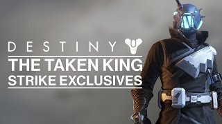 getlinkyoutube.com-Destiny - The Taken King - All Strike Exclusive Loot