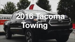 getlinkyoutube.com-2016 Tacoma Approach Departure Angles Towing Specs